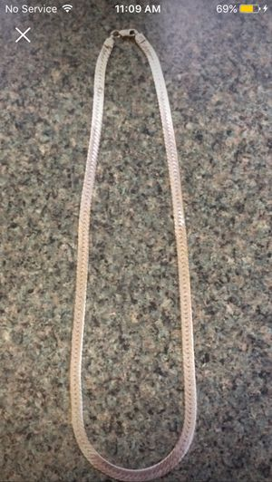 Italy/.925 sterling silver chain for Sale in Wenatchee, WA