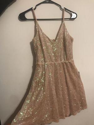 Rose gold sequin dress for Sale in Alexandria, VA