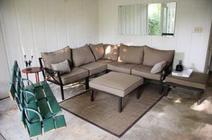 New!! Outdoor sectional, 7 piece sectional, patio furniture, patio chairs for Sale in Phoenix, AZ