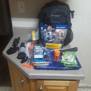 20 Piece Bugout Bag/ Emergency Kit for Sale in Belleville, IL