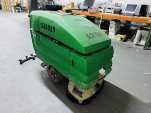 """2013 tennant 5680 32"""" disc floor scrubbers Walk behind electric floor scrubber 36-volt battery system for extended scrub times for Sale in Miami Springs, FL"""