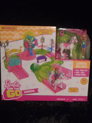 Barbie on the go carnival for Sale in Bloomington, CA
