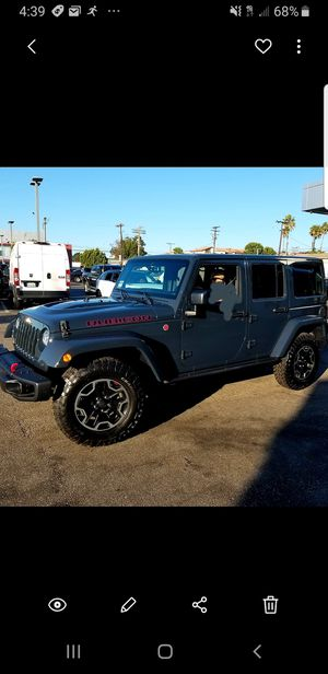 Stock 2017 Jeep Rubicon wheels and tires, and stock shocks and springs. 255/75/R17 for Sale in Redondo Beach, CA