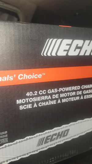 ECHO CS400 CHAINSAW 40.2 CC GAS POWERED for Sale in Portland, OR