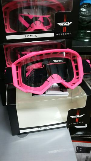 Women Motocross off-road goggles pink with clear lens for Sale in Los Angeles, CA