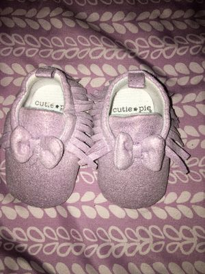 Purple baby shoes for Sale in Indio, CA
