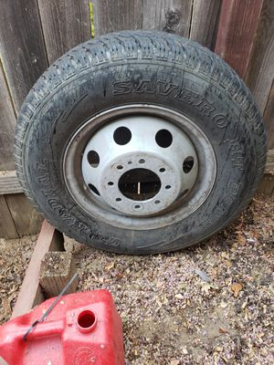 FORD F-350 SARE TIRE AND WHEEL for Sale in Carmichael, CA
