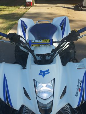 2006 Suzuki 400 LTZ,2nd OWNER COMES WITH PADDLES ADULT OWNED,TITLE IN HAND,HAVE TO SEE TO APPRECIATE! for Sale in Phoenix, AZ