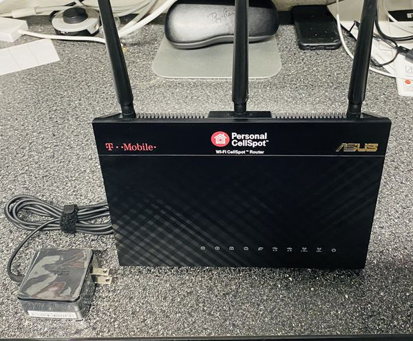 Asus AC1900, T-Mobile CellSpot, router WiFi and cell phone dead spots