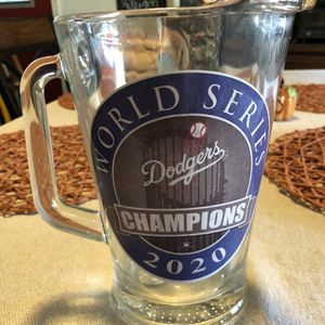 Dodgers World Series Championship Pitcher for Sale in Downey, CA
