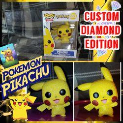 Funko Pop Pikachu Custom Diamond Edition for Sale in Doubs,  MD