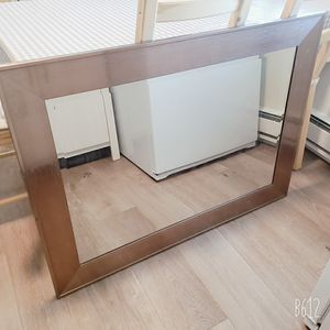 Brown framed Wall Mirror for Sale in Santa Clara, CA