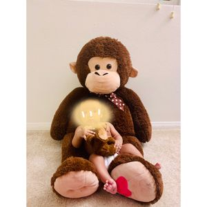 36 inches stuffed animal toy monkey. Like new for Sale in Irvine, CA