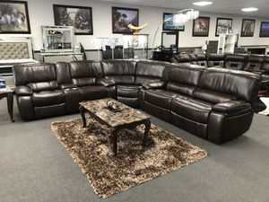 Brown Sofa Sectional on SALE 🔥 for Sale in Fresno, CA