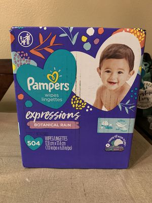 Pampers wipes Expressions 9 packs for Sale in Corona, CA