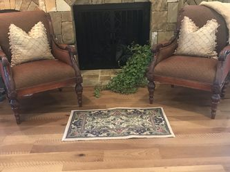 2 Oversized Arm Chairs for Sale in McLean,  VA