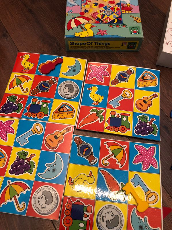 Shape of things game - by discovery toys - matching, preschool. Homeschool