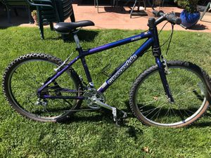 Cannondale f400 P-Bone mountain bike in excellent shape. Works perfectly- final price. Firm for Sale in Belmont, CA
