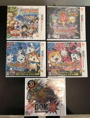 Five Brand New Nintendo 3DS Games, In Original Packaging for Sale in Miami, FL