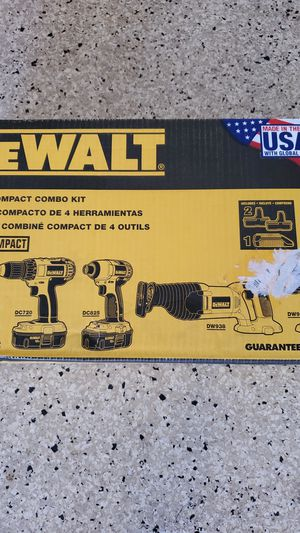 DEWALT COMBO KIT for Sale in Vista, CA