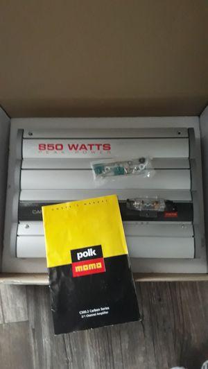 Polk audio class d amplifire 800 watt for Sale in Henderson, NV