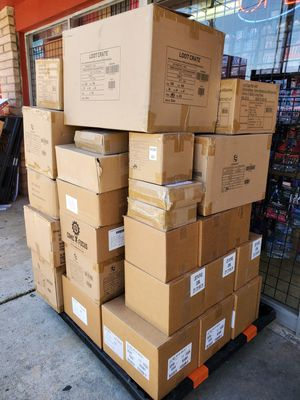 Huge PALLET of LOOT CRATE COLLECTIBLES! PERFECT FOR RESALE BETWEEN $12,000-$15,000 IN RETAIL VALUE. FOR ONLY $1200! for Sale in Riverside, CA