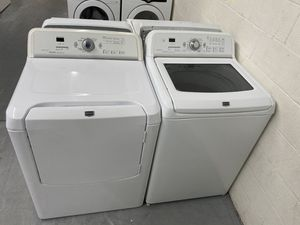 Maytag Bravos h/e washer and dryer set for Sale in Fort Mill, SC