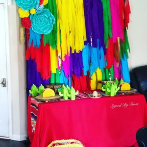 Fiesta theme party Baby Shower for Sale in Loganville, GA