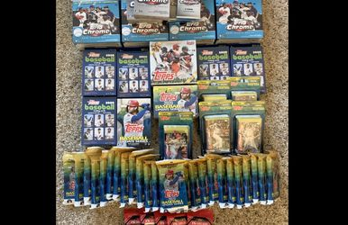 TOPPS Chrome Baseball Cards New for Sale in Stockton,  CA