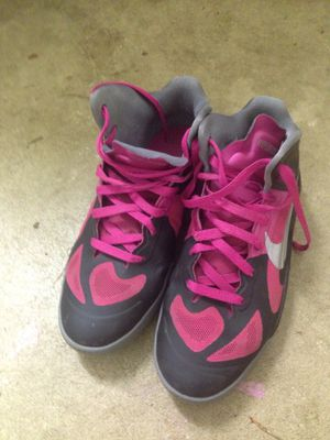 Nike Basketball Shoes Size 6.5Y or 8 Women's for Sale in Bonney Lake, WA
