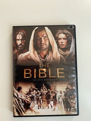 The Bible epic miniseries 4 DVD set for Sale in Scottsdale, AZ