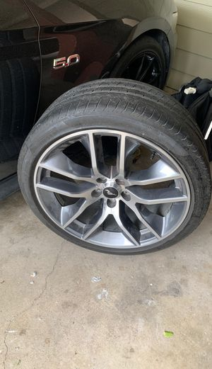 Mustang gt premium wheels and tires for Sale in Victoria, TX