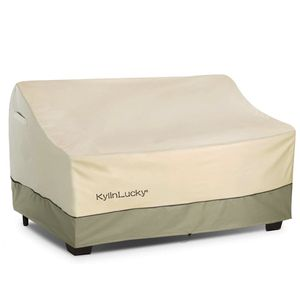 KylinLucky Outdoor Furniture Covers Waterproof, Patio Loveseat Sofa Cover Fits up to 78W x 42D x 30H inches for Sale in Queens, NY