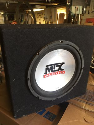 "MTX thunder 4500 10"" subwoofer for Sale in Portland, OR"