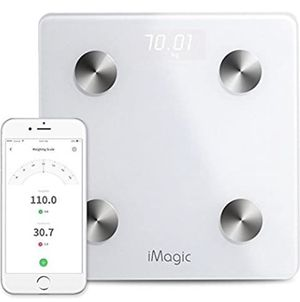 NEW $25 Bluetooth Weight Scale by iMagic for 11 Fitness Indicators, Bluetooth Smart Digital Scale with iOS/Android APP, Body Composition Analyzer for for Sale in Ontario, CA