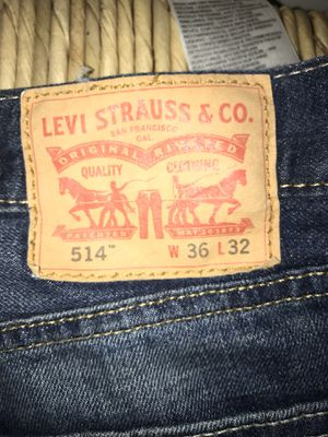 514 Levi's 36x32 Men's for Sale in Reston, VA