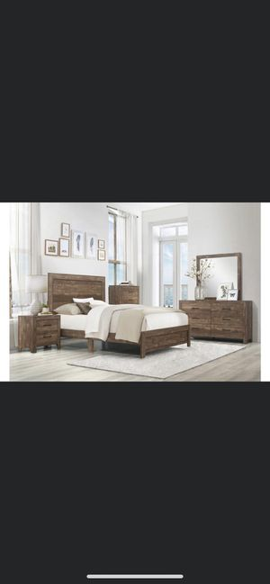 New queen bedroom set $876 for Sale in Hemet, CA