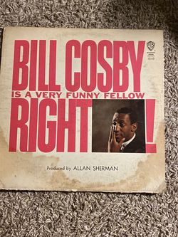 Bill Cosby Is A Very Funny Fellow Right! Vinyl Record for Sale in Diamond Bar,  CA