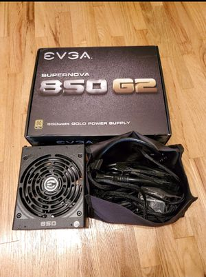 EVGA Supernova G2 850w Gold+ Power supply for PC for Sale in Gardena, CA