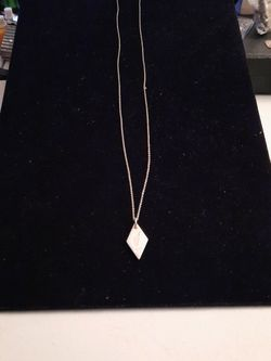Tiffany & Co Sterling Silver Necklace with Nike Charm Toronto 2015 15 K Race for Sale in Mount Rainier,  MD