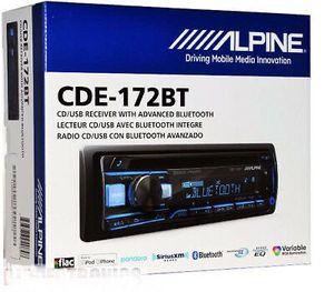 Alpine CDE-172BT 200-Watt Advanced Bluetooth CD Receiver radio for Sale in Rancho Cucamonga, CA