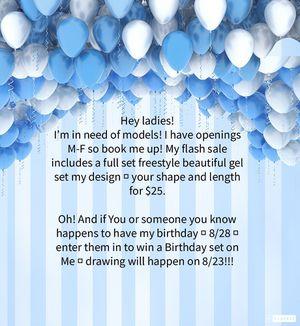 Birthday flash special for Sale in Powder Springs, GA
