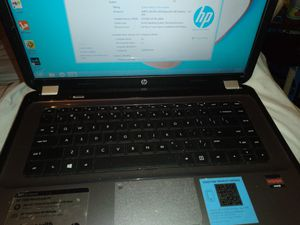 Hp laptop with charger windows 8 asking 100 obo for Sale in Dallas, TX