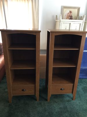 Pair of matching bookshelves for Sale in Chula Vista, CA
