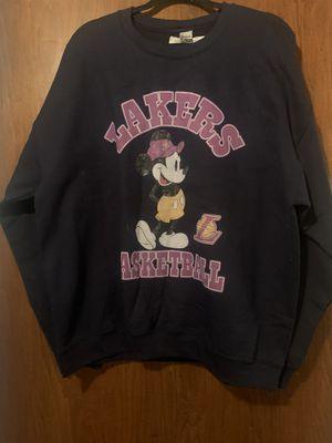 Men's Mickey/Lakers Sweatshirt for Sale in Westminster, CA