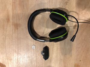 Turtle Beach XO 4 Headset+ Amplified Gaming Adapter for Sale in Bethesda, MD