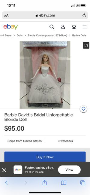 David bridal Barbie Doll collectible 2004 for Sale in Apopka, FL