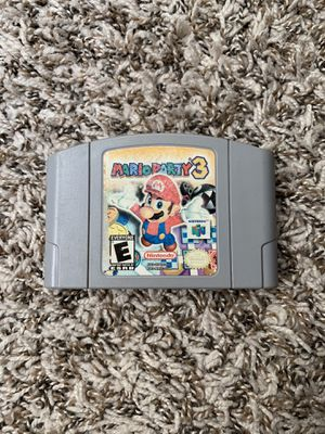 Mario Party 3 For Nintendo 64, Tested, Plays Perfect for Sale in Long Beach, CA