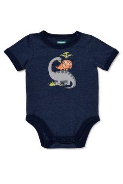 Garanimals Baby Boys' Dinosaurs Short Sleeve Ringer Bodysuit for Sale in The Bronx,  NY