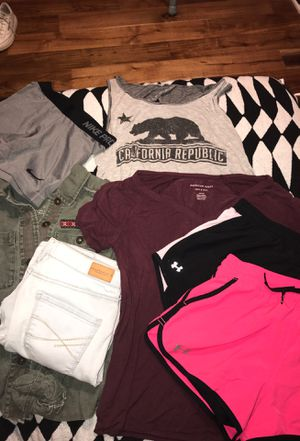 Nike, Under Armor, Aeropostale, American Eagle, and Charlotte Russe clothing for Sale in Fuquay-Varina, NC